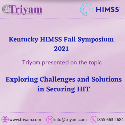 The KY HIMSS Fall Symposium 2021
